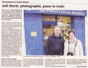 Read more about the article Ouverture du Magasin à Champdeniers 2011