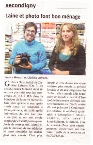 Read more about the article Permanence à  Secondigny Du fil au Chas
