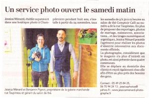 Read more about the article Permanence à Saint Maixent l'école Comptoir café