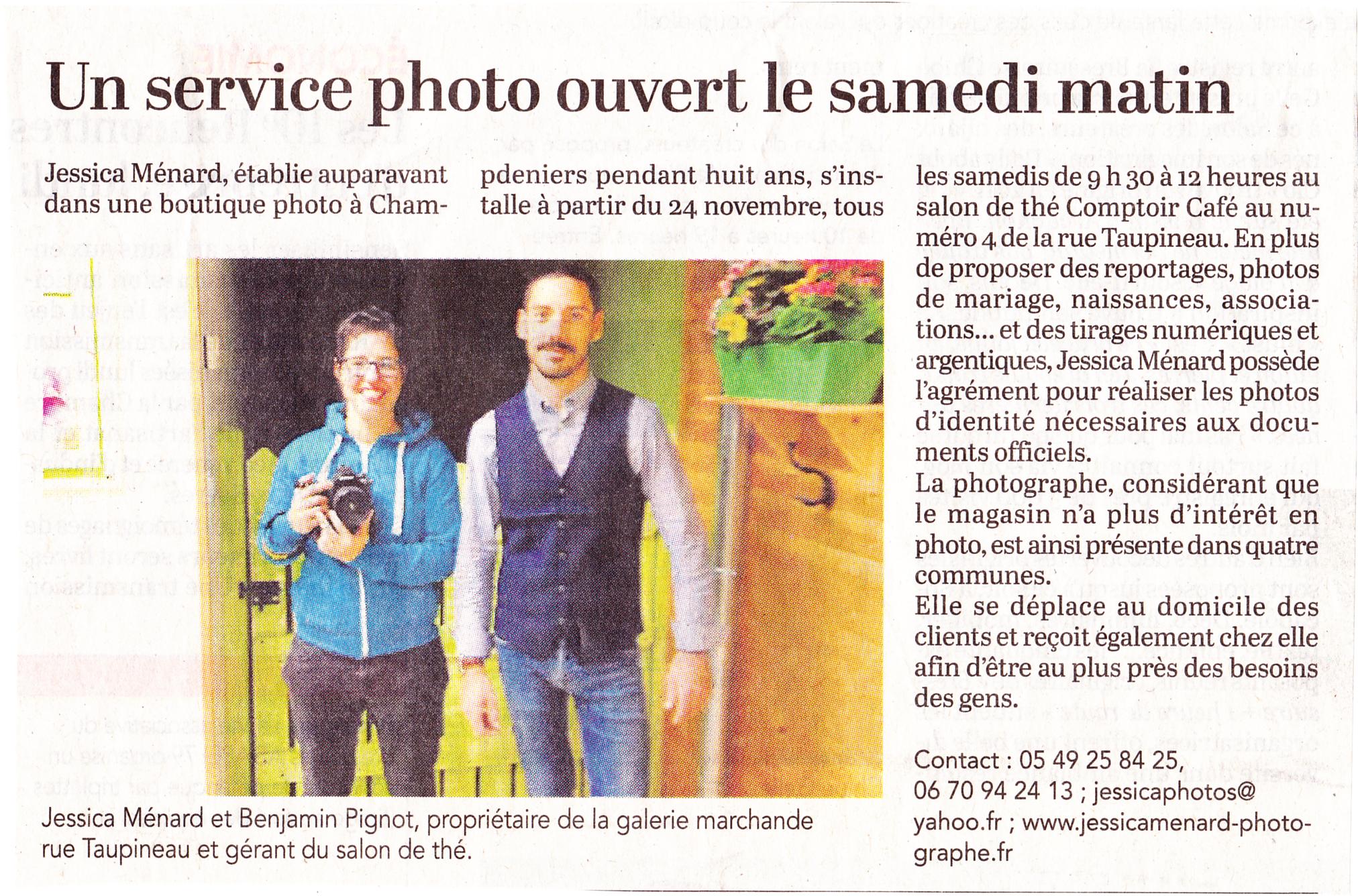 You are currently viewing Permanence à Saint Maixent l'école Comptoir café
