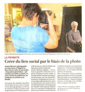 Read more about the article Le Courrier de l'Ouest Samedi 27 Avril 2019