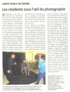 Read more about the article La Nouvelle République Vendredi 26 avril 2019