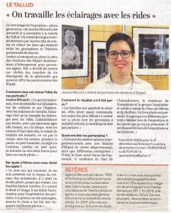 Read more about the article Le Courrier de l'Ouest Dimanche 17 Novembre 2019