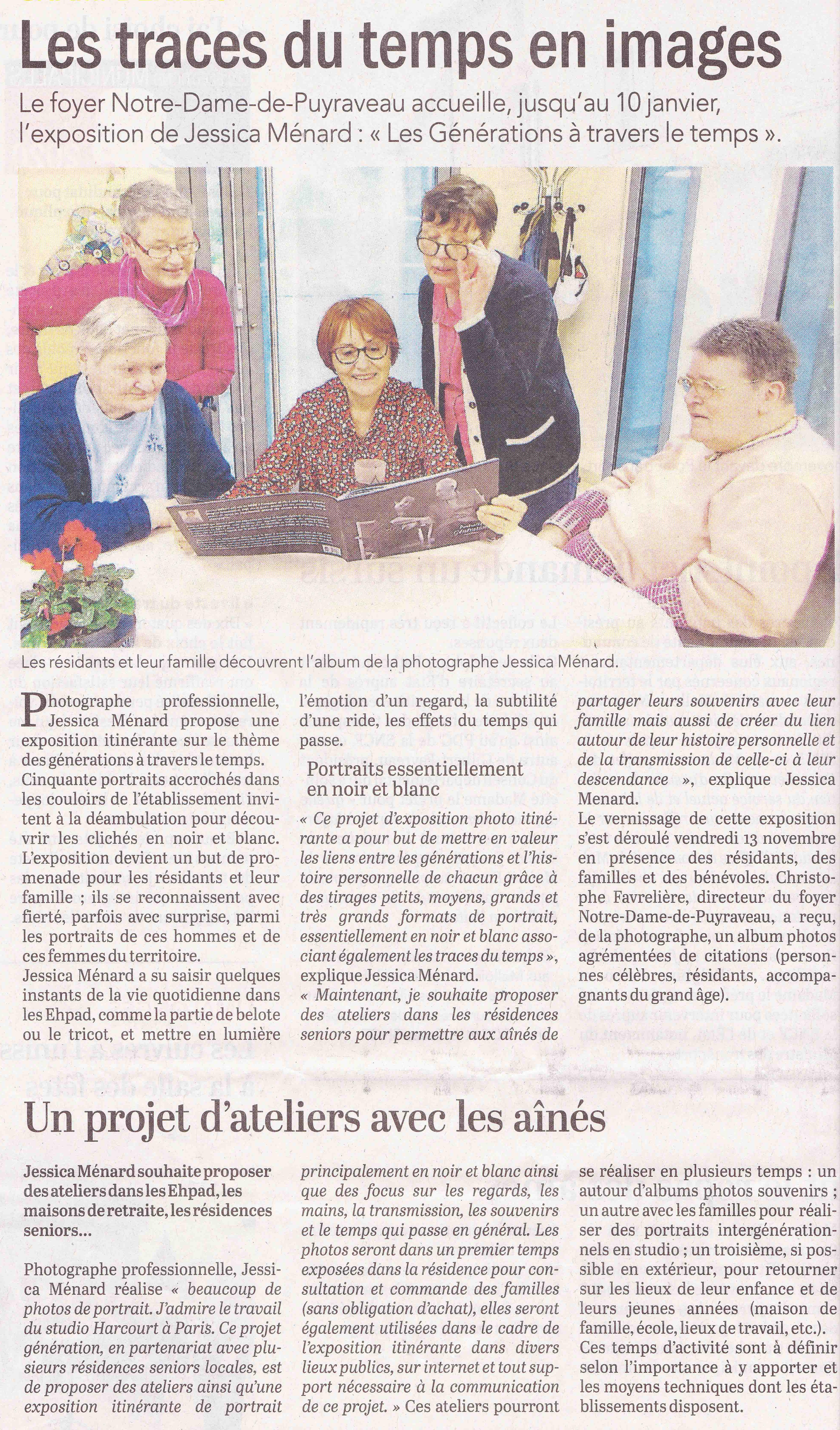 Read more about the article Le Courrier de l'Ouest Dimanche 22 décembre 2019