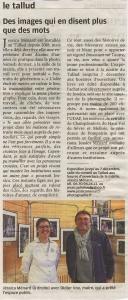 Read more about the article La Nouvelle République Vendredi 15 Novembre 2019