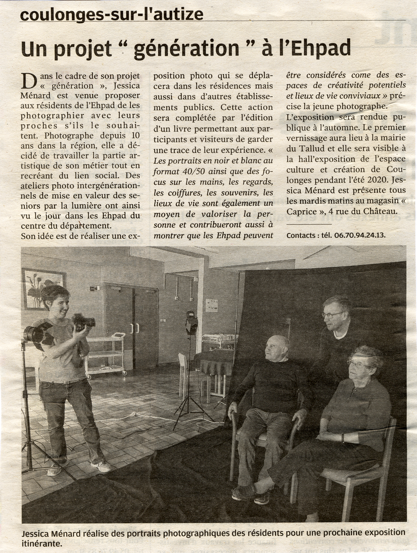 Read more about the article La Nouvelle République  Vendredi 31 Mai 2019