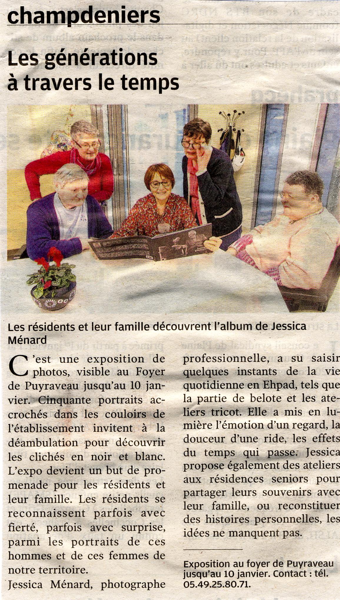 Read more about the article La Nouvelle République Mardi 31 Décembre 2019